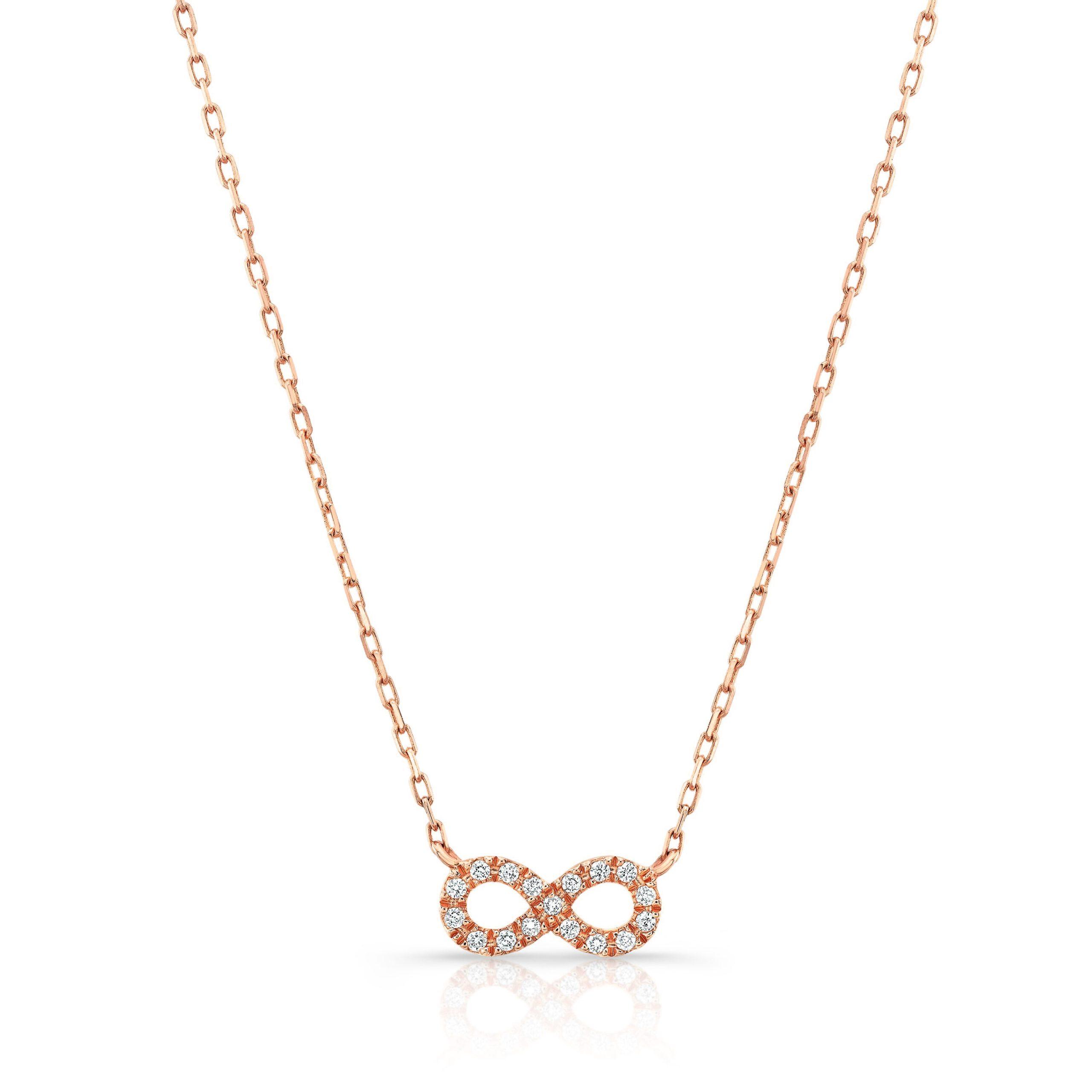 Diamond Infinity Necklace