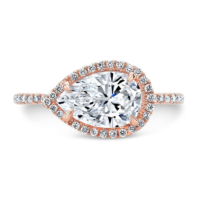 Elise Forever One Moissanite