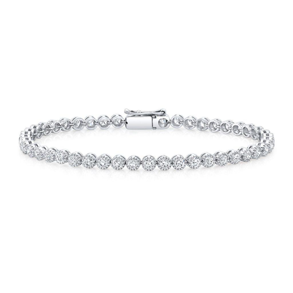 Naomi 4.15ct. Round Tennis Bracelet