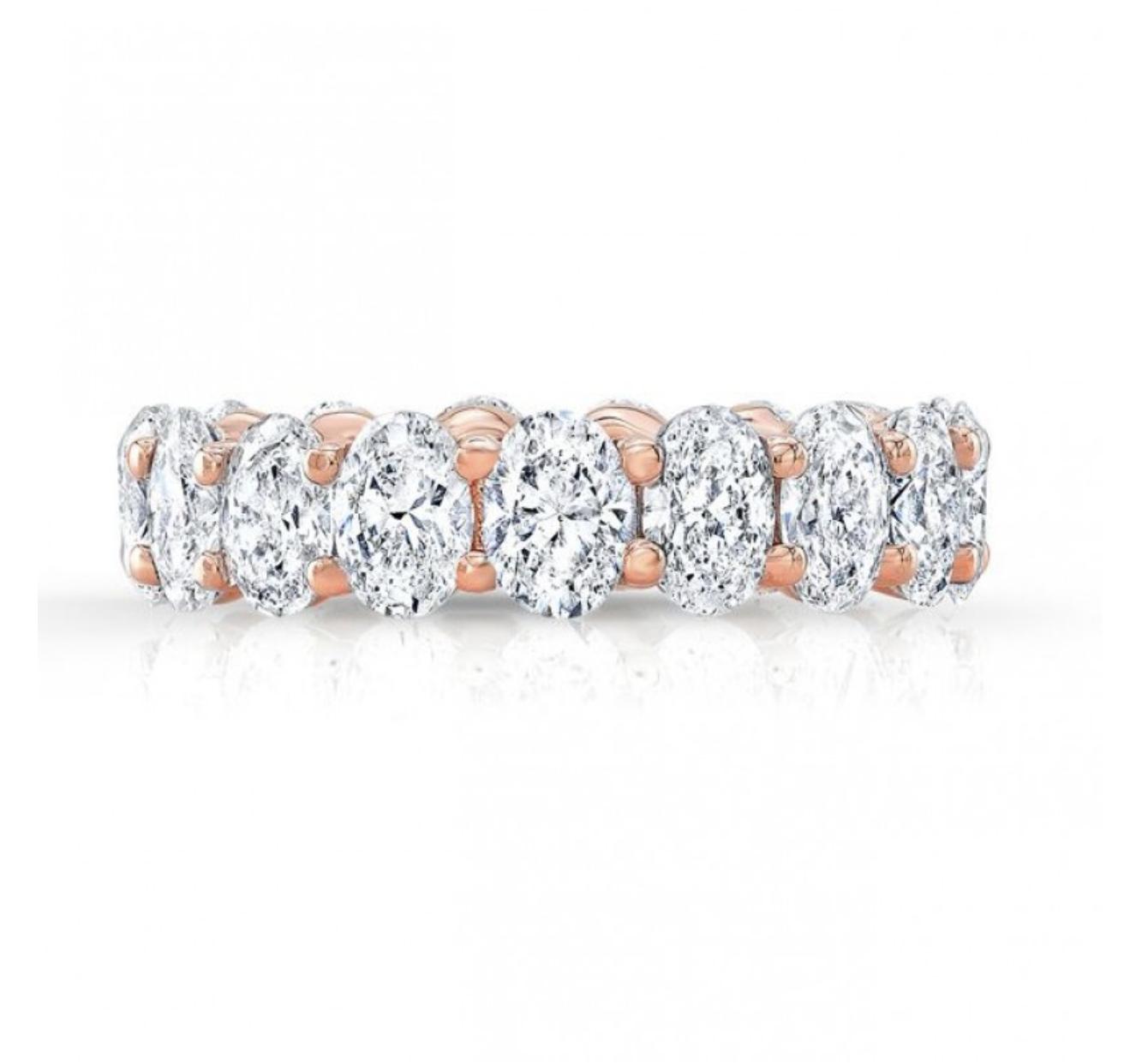 Blake Moissanite Ring