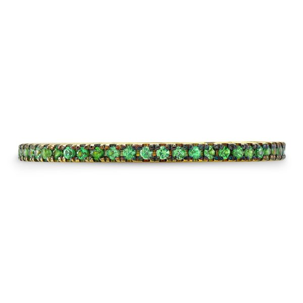 Green Sapphire Band