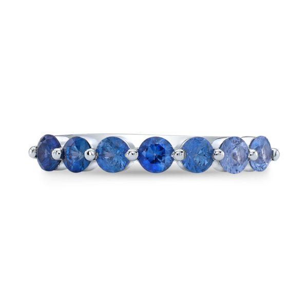Blue Sapphire Band