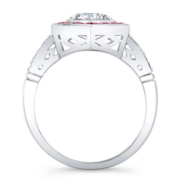Amelia Forever One Moissanite