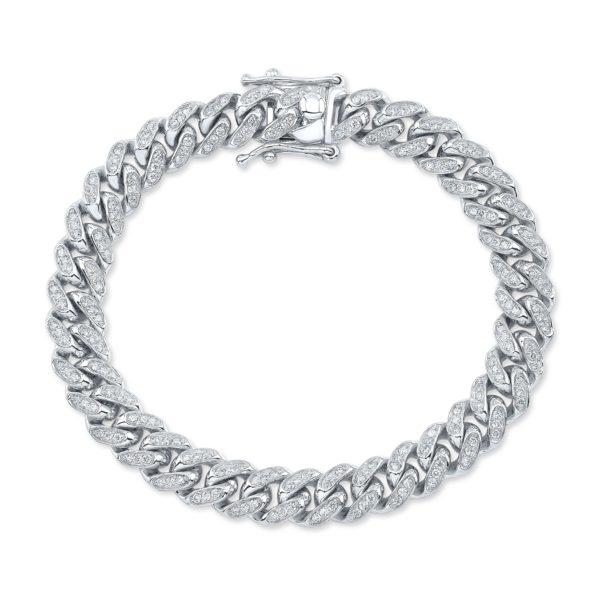 Diamond Cuban Chain Bracelet
