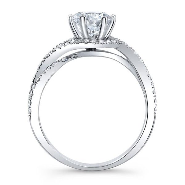Emery Moissanite Ring