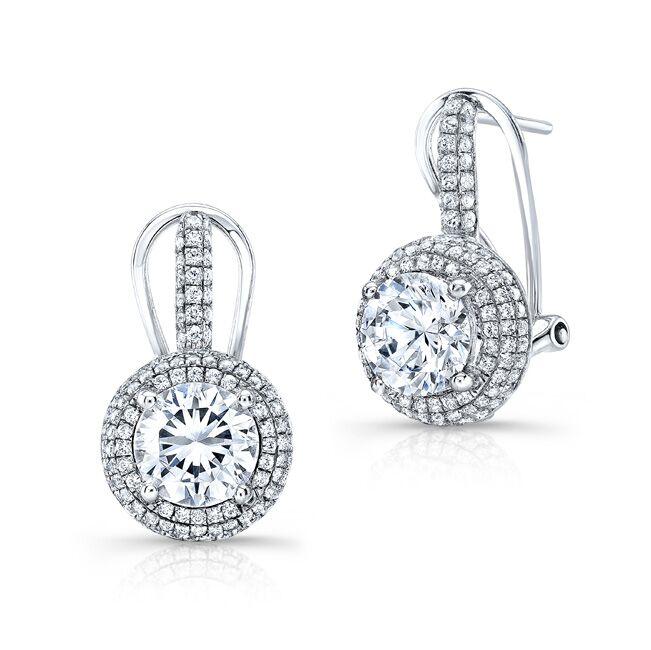Emma Moissanite Earrings