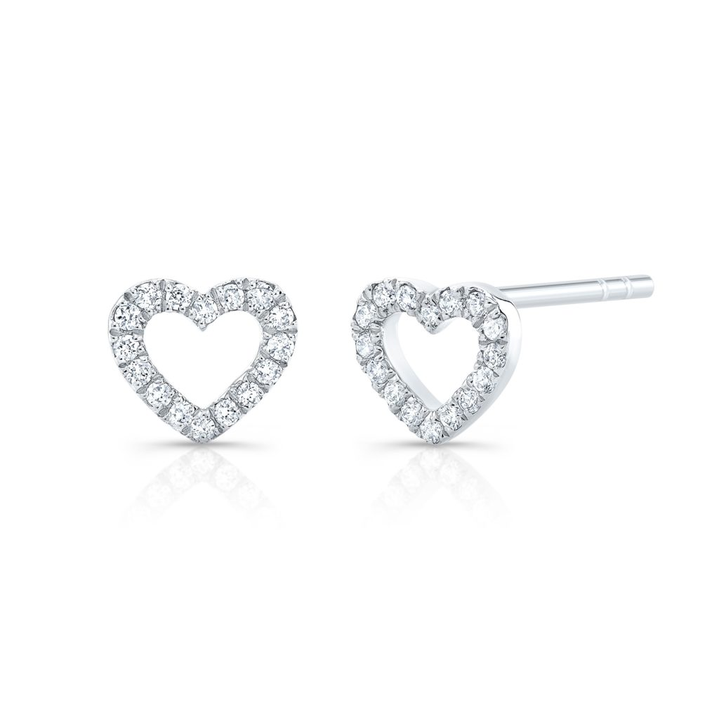 Heart Outline Studs