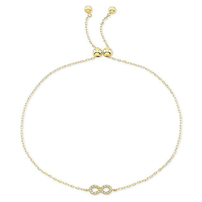 Diamond Infinity Bracelet