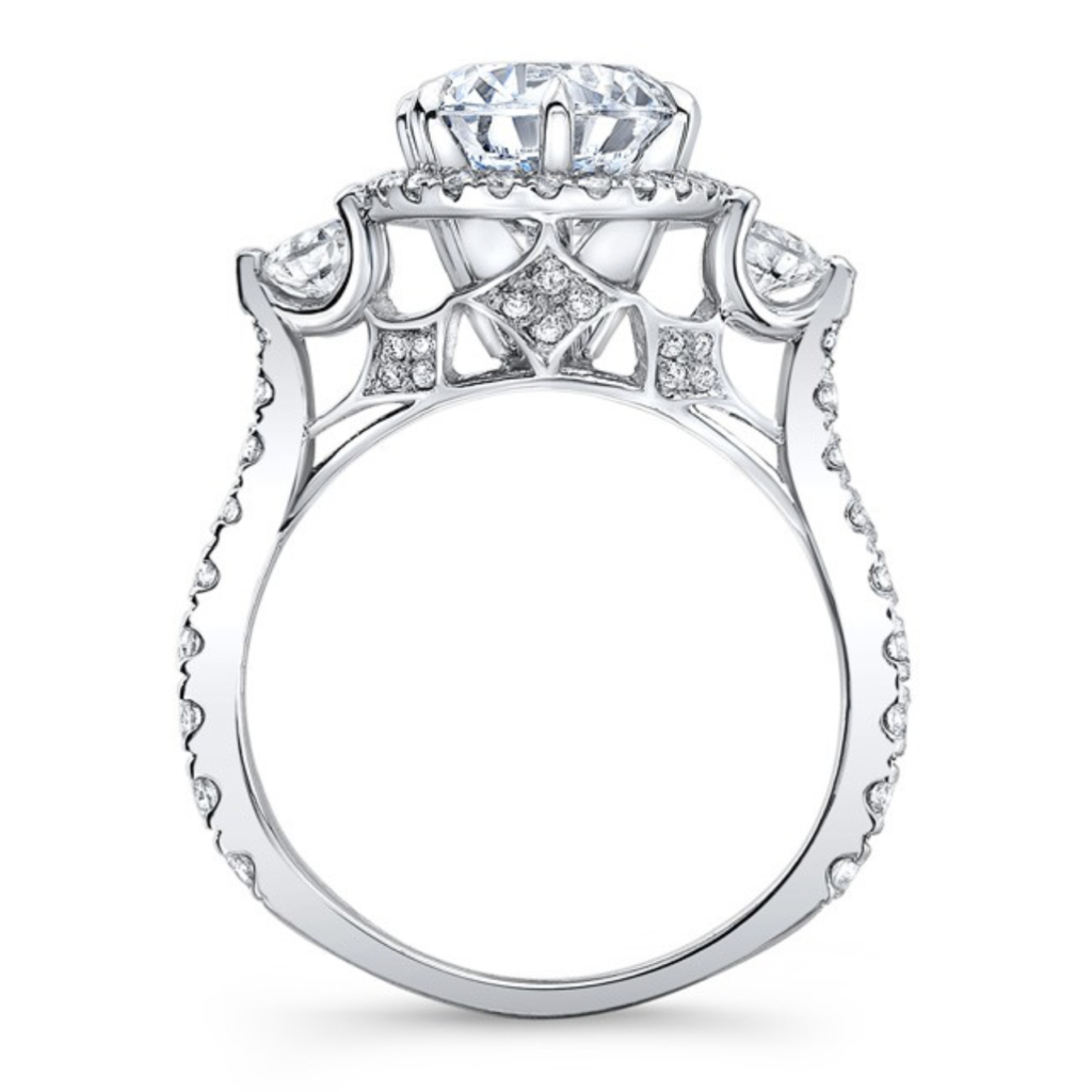 Nicole Moissanite Ring