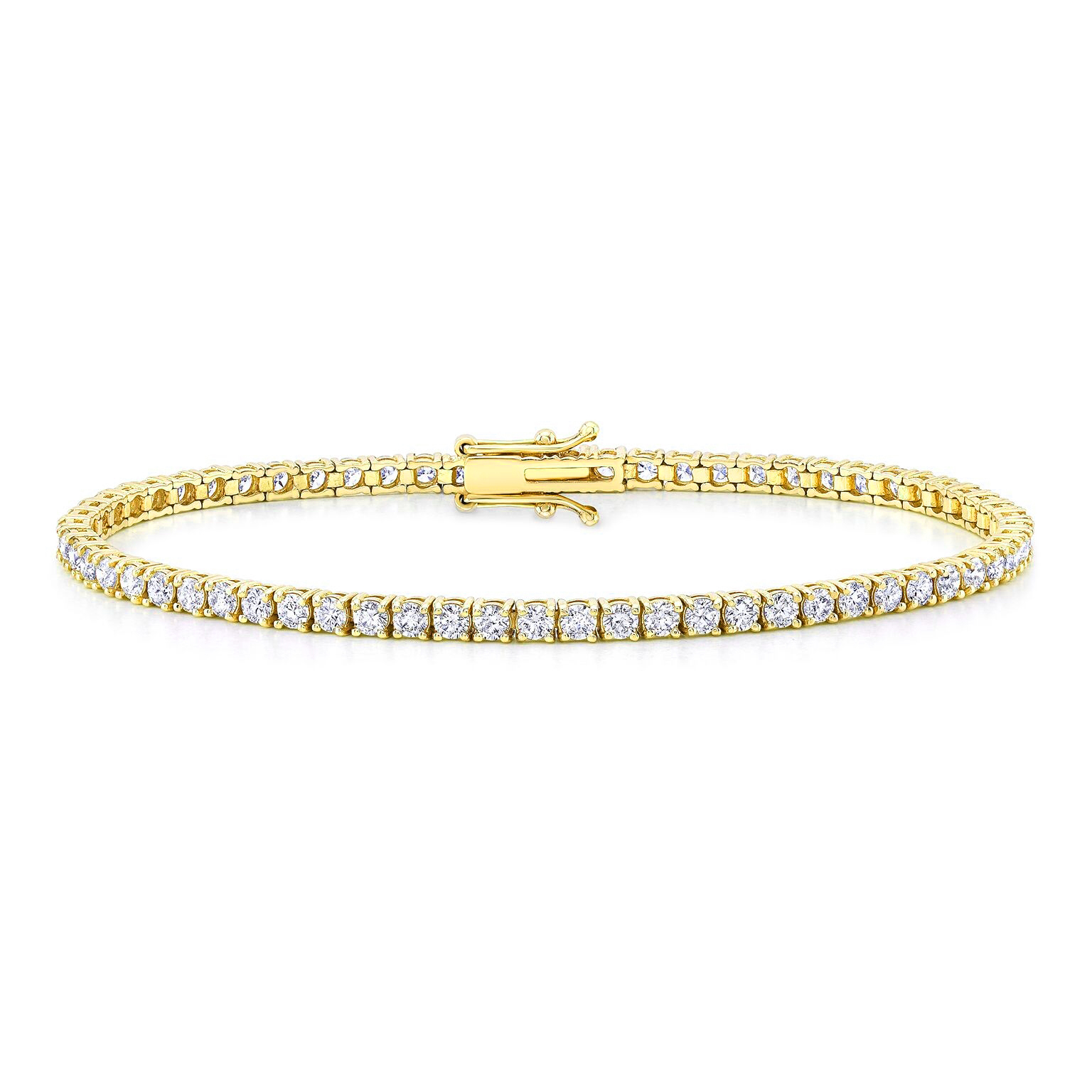 Nicolette 3.64ct. Diamond Tennis Bracelet
