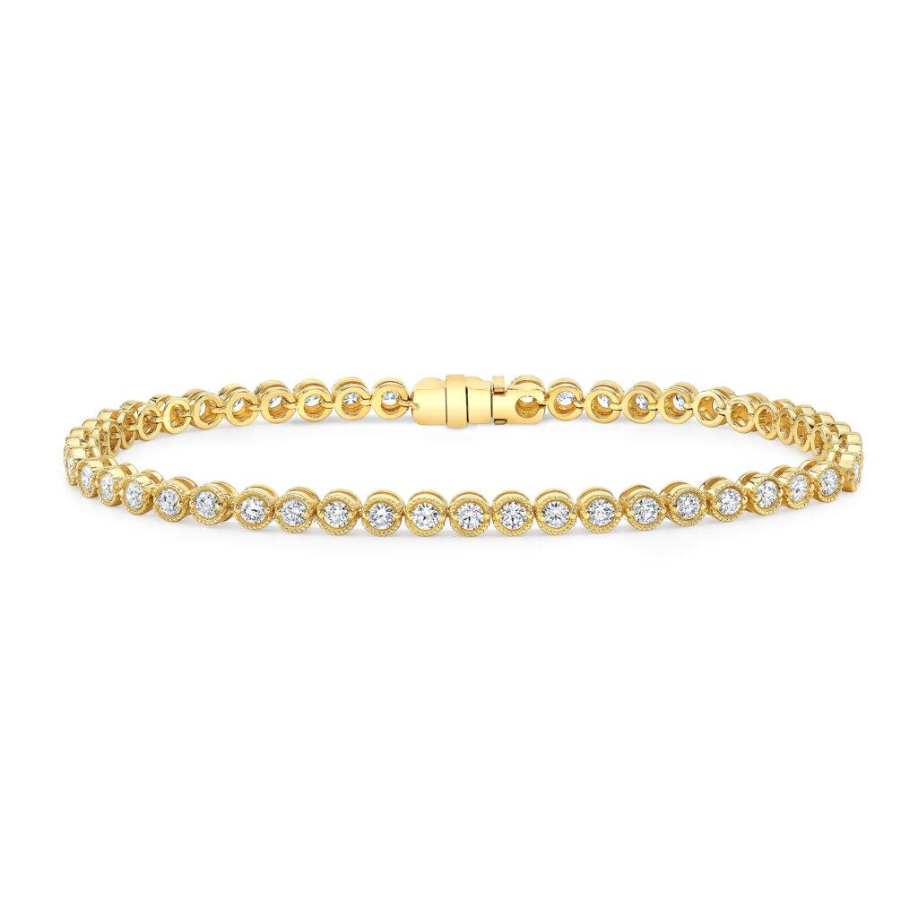 4.15ct. Round Tennis Bracelet