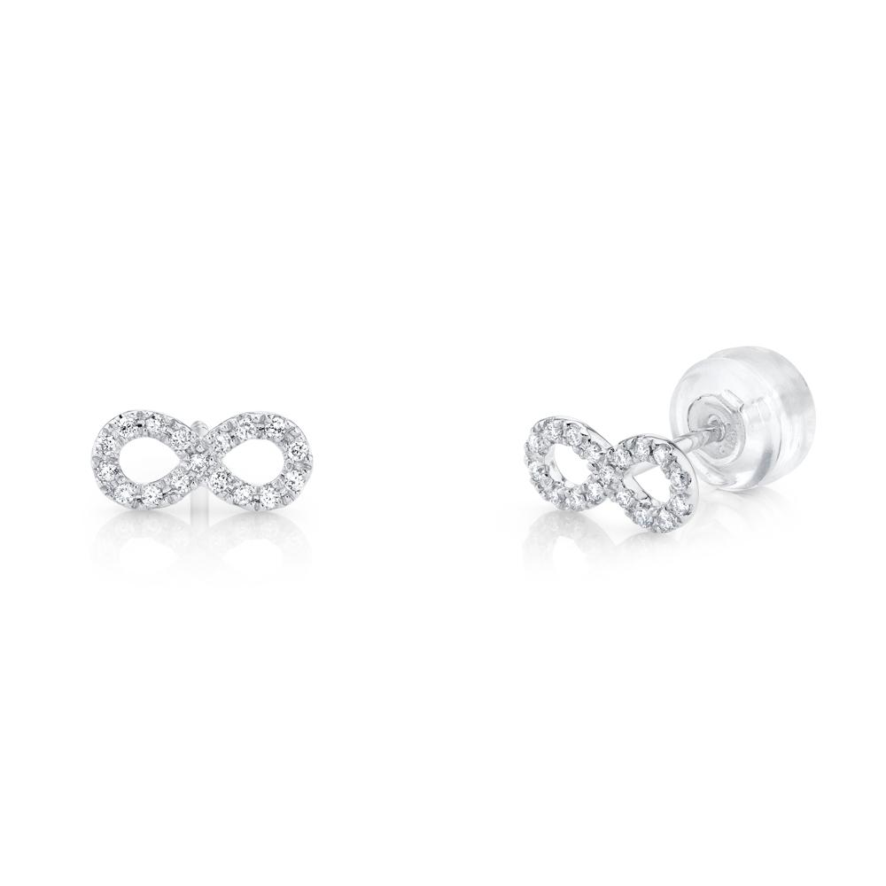 Infinity Diamond Studs
