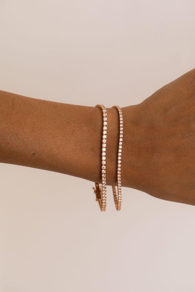 2.32ct Diamond Tennis Bracelet