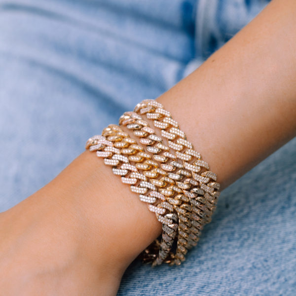Diamond Cuban Chain Bracelet