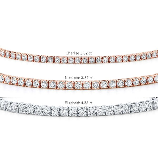 Charlize 2.32ct. Diamond Tennis Bracelet