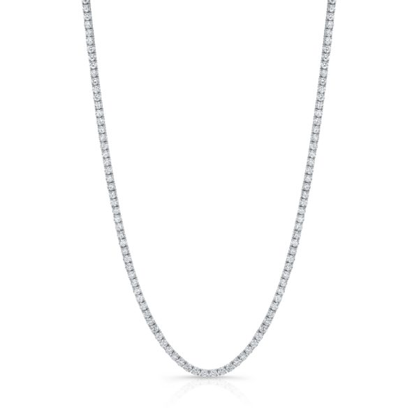 11.56ct Tennis Necklace