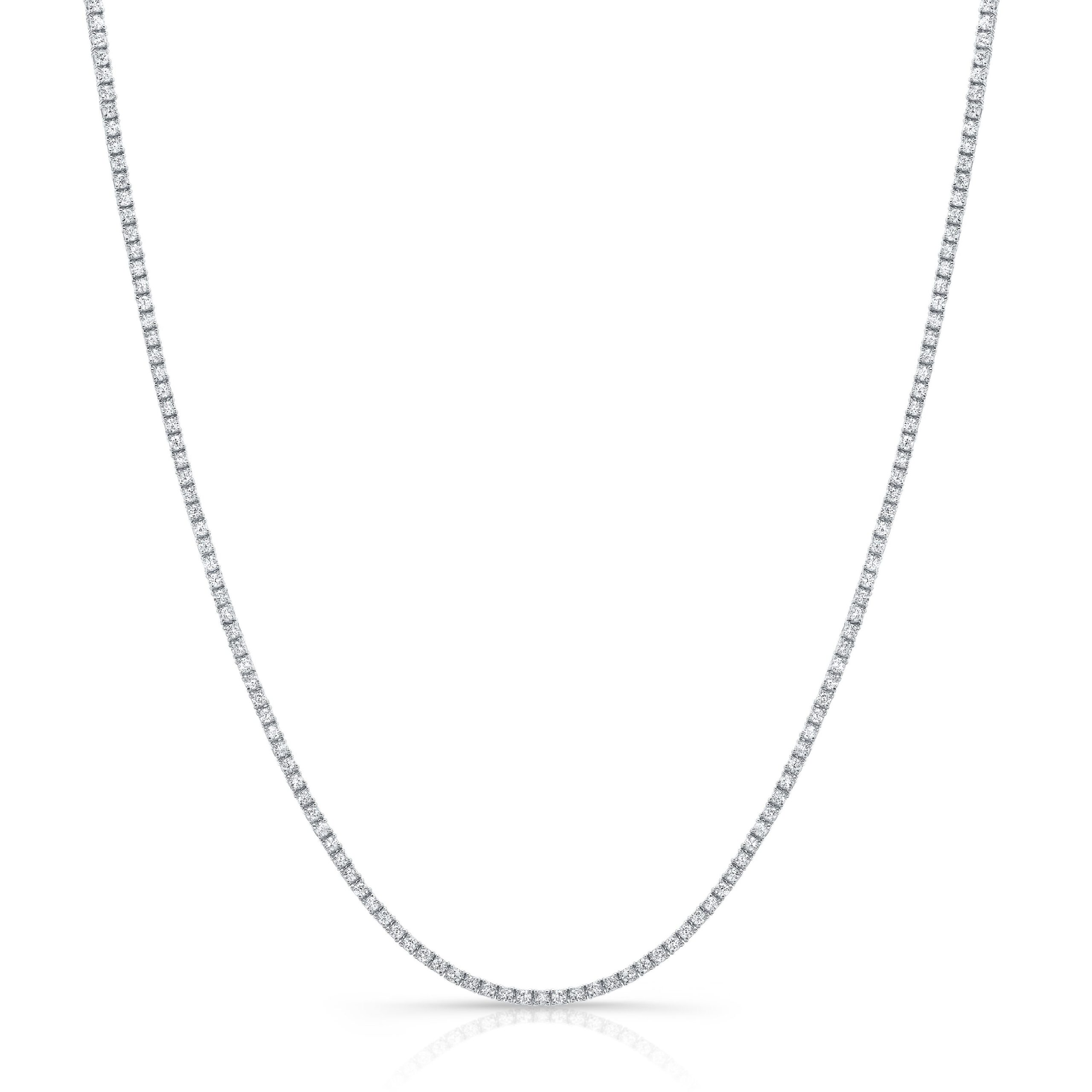 4.03ct Diamond Tennis Necklace