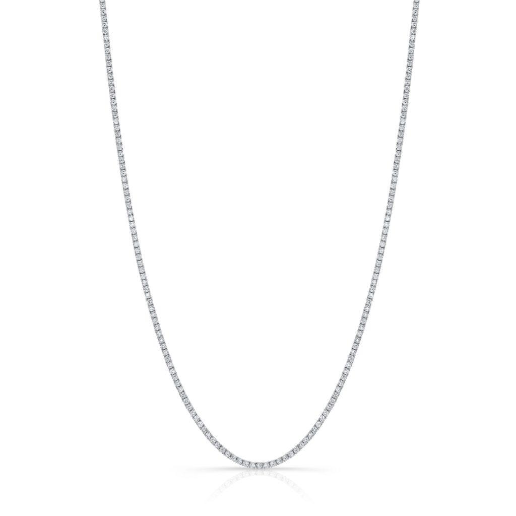 9.17ct. Diamond Tennis Necklace