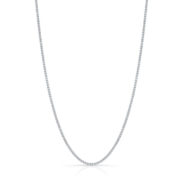 9.17ct. Diamond Tennis Necklace