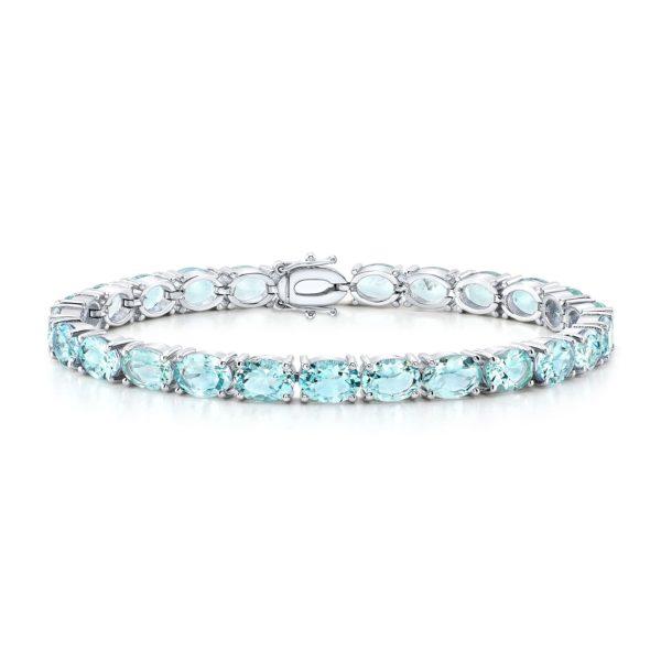 Amy Aquamarine Bracelet