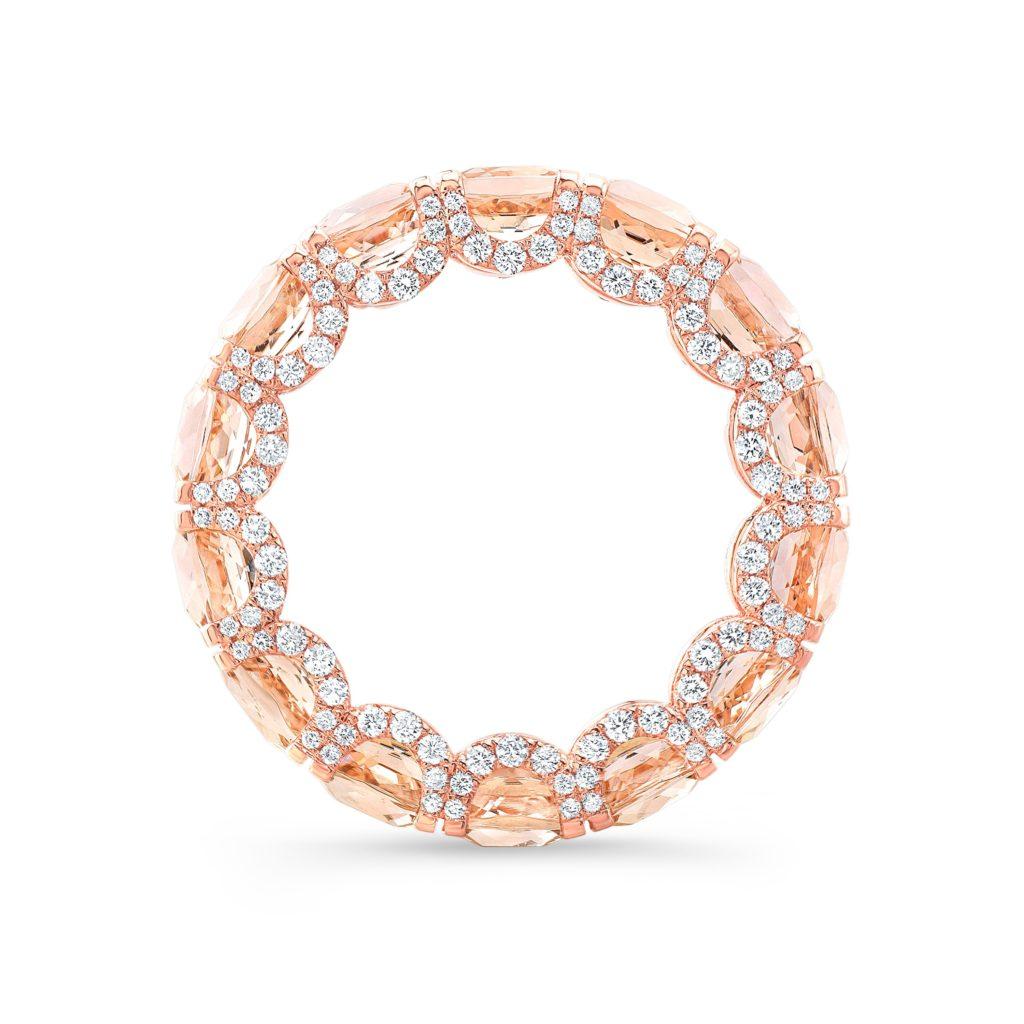Lauren Morganite Eternity Ring