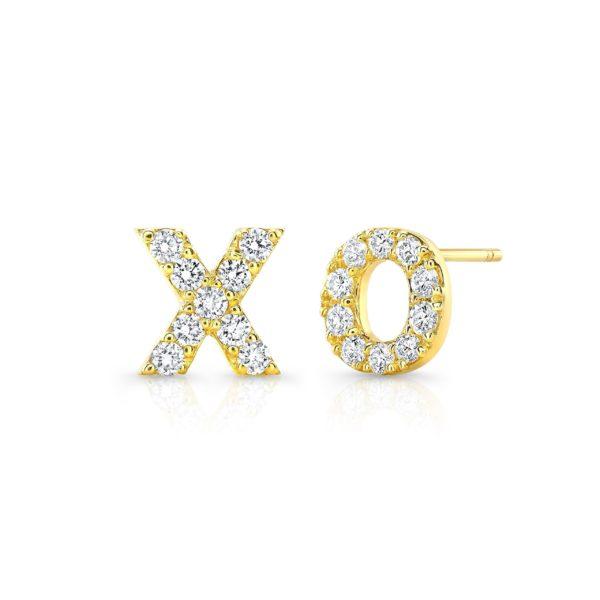 Xo Diamond Studs