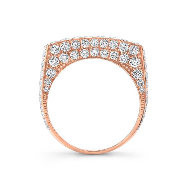 Leo Half Set Diamond Ring