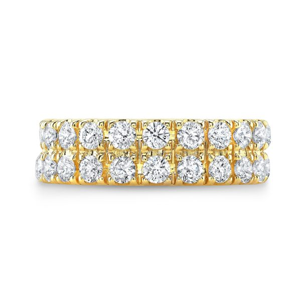 Double Row Diamond Ring
