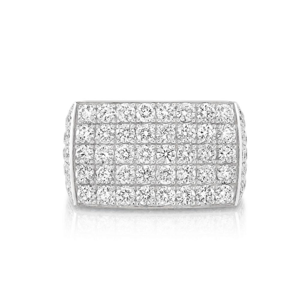 Leo Half Set Diamond Ring