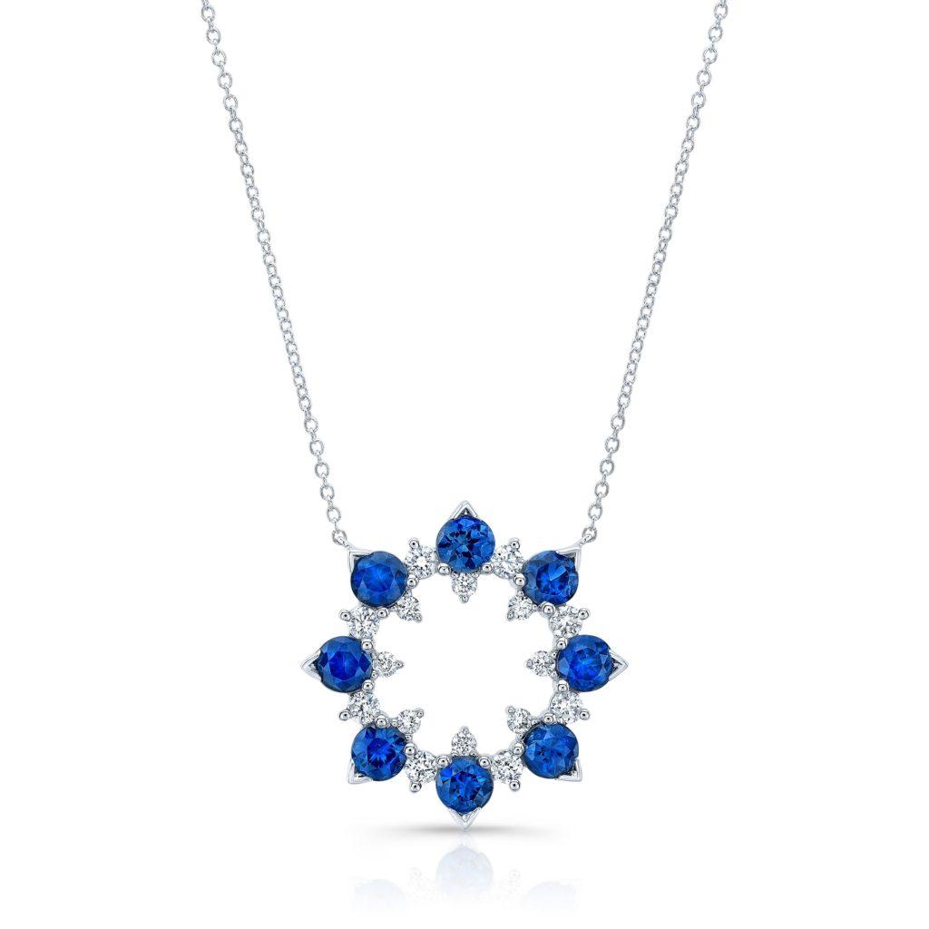 Blue Sapphire Laguna Necklace