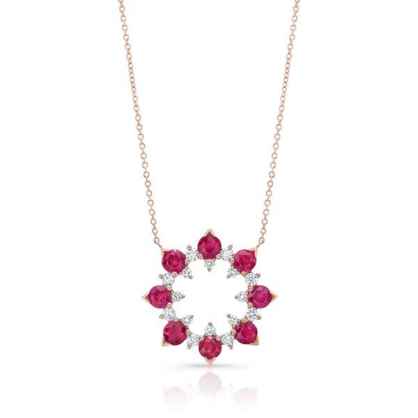Ruby Laguna Necklace