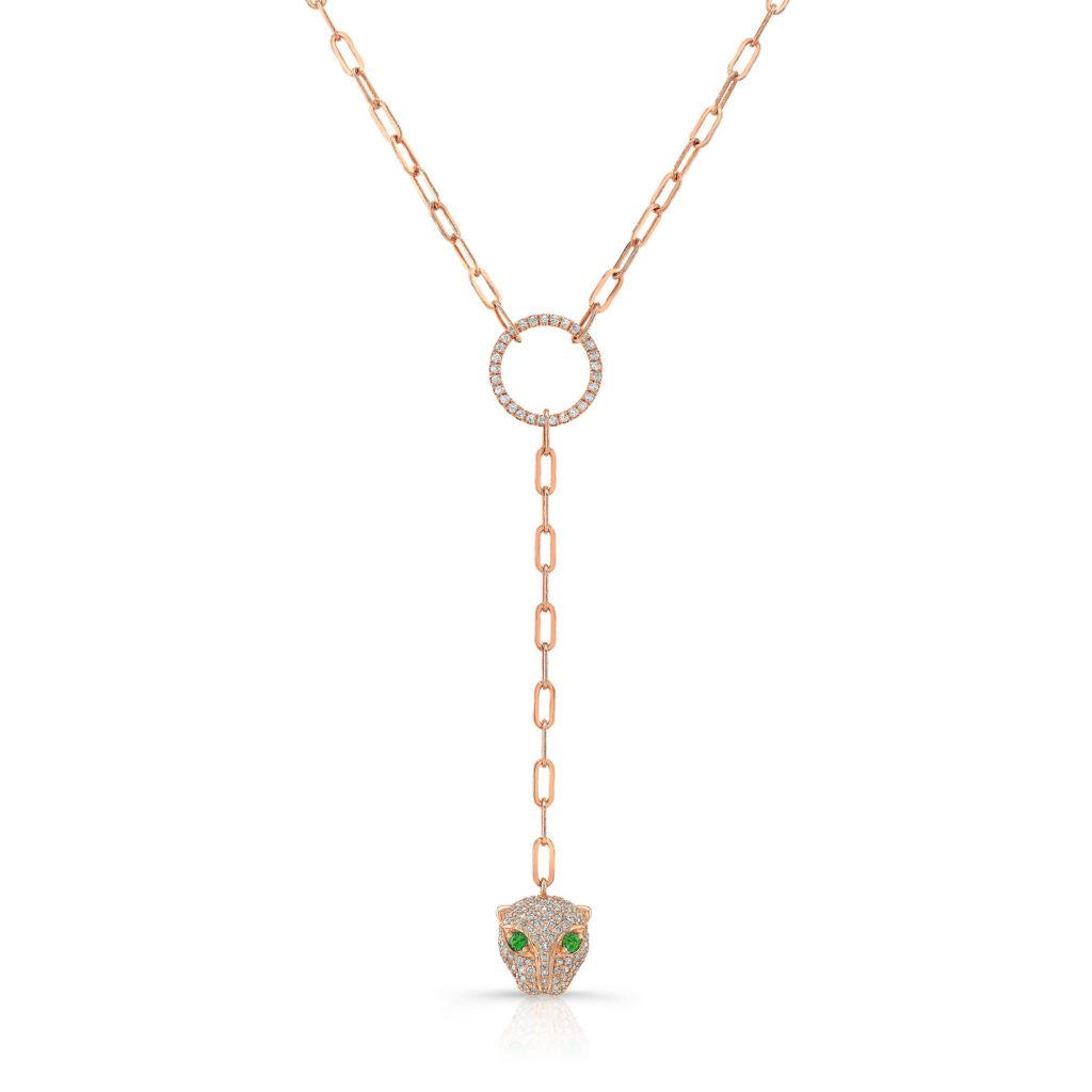 Jaguar Drop Necklace
