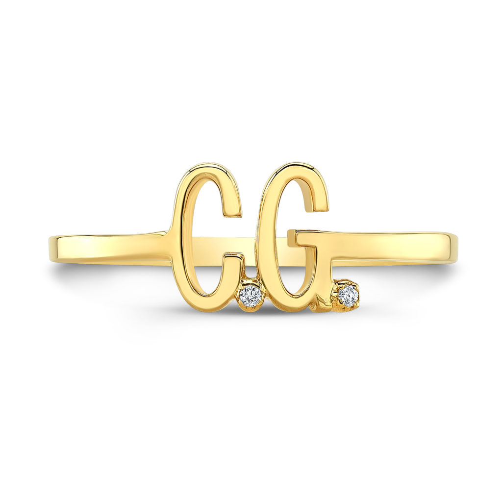 Double Letter Ring