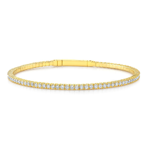 Eternity Diamond Jazz Bangle