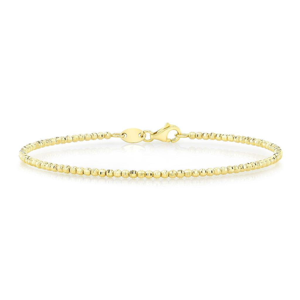 Disco Beaded Bracelet