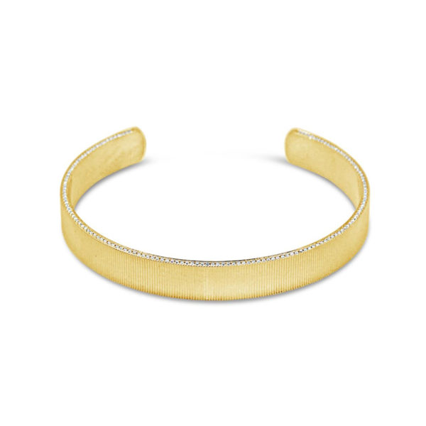 Ribbed Cuff Bangle