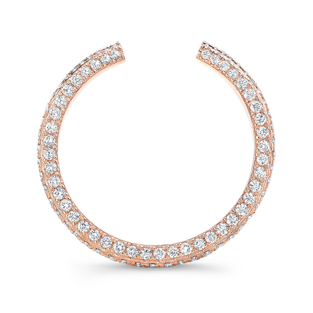 The Amelia 3-Sided Pave