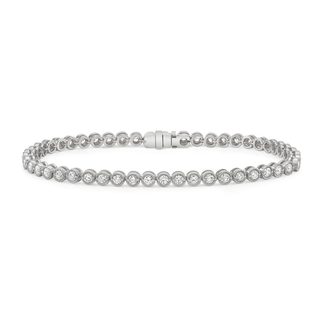 Bezel Tennis Bracelet