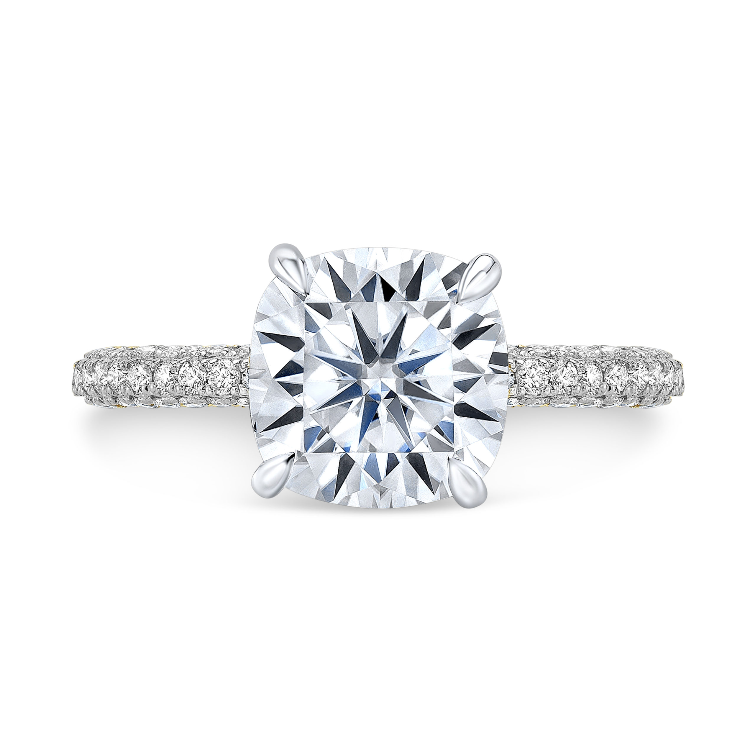 The Iris Moissanite