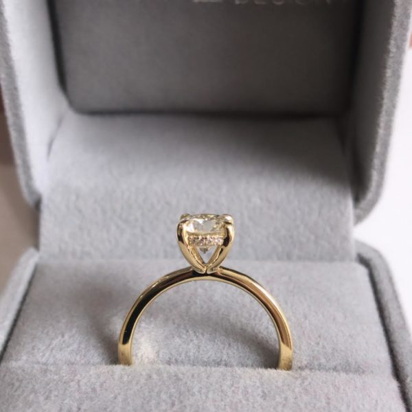 1.00ct Round Diamond Engagement Ring