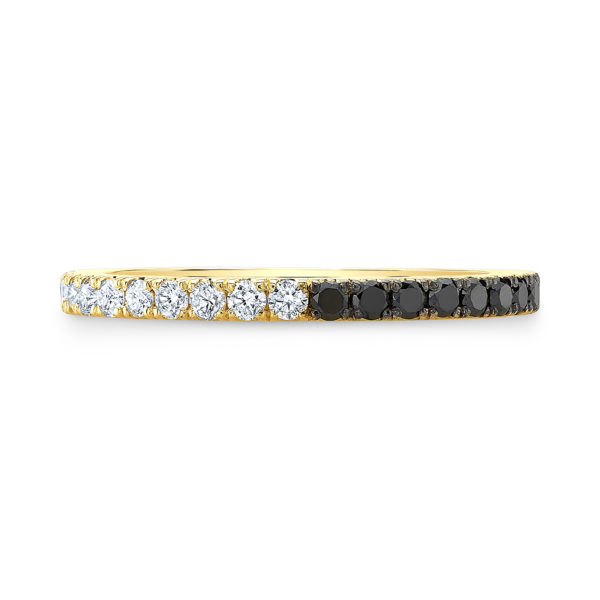 Half & Half Diamond Eternity Band
