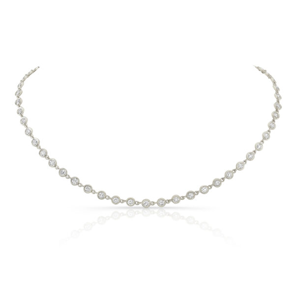 Diamond Bezel Choker