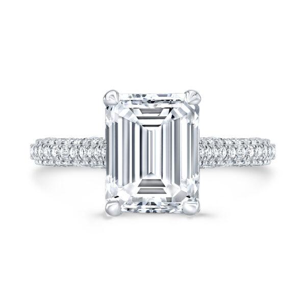 Kensington Emerald Lab-Grown Diamond