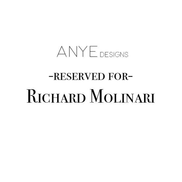 Reserved for Richie Molinari