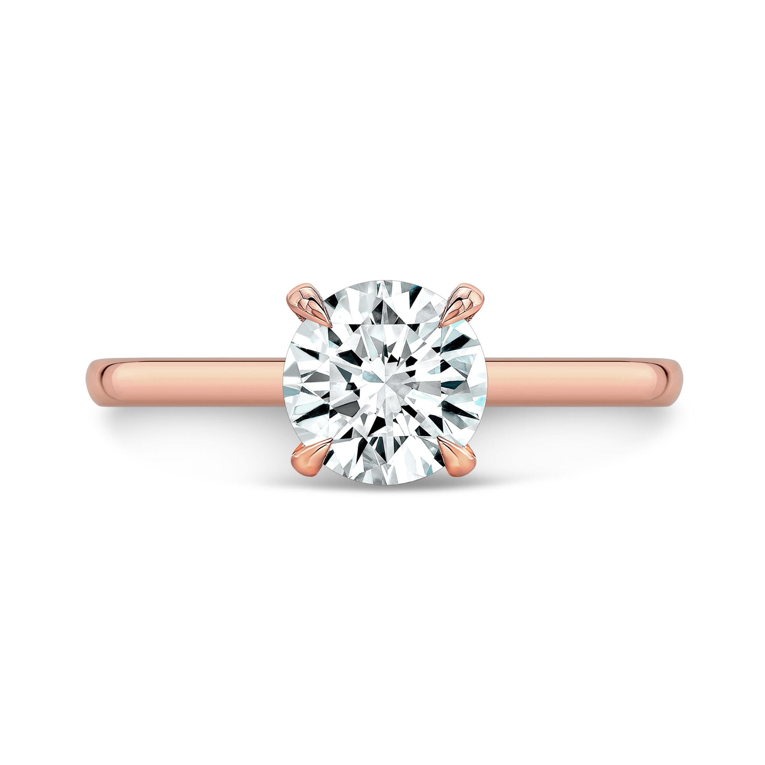 Michaela Round Lab-Grown Diamond